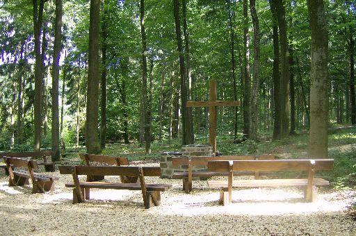 Anfachtsplatz im RuheForst Laubach