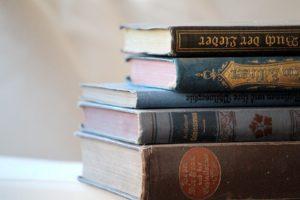 Haushaltsauflösung, Bücher verschenken