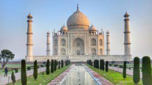 Mausoleum Taj Mahal in Indien