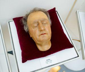 Totenmaske des Johann Wolfgang von Goethe