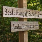 FriedWald Schönebeck, Hinweis zum Andachtsplatz