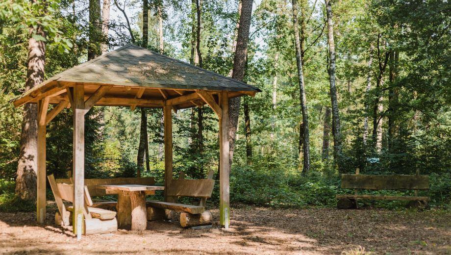 Schutzhütte | Quelle: FriedWald Bremer Schweiz