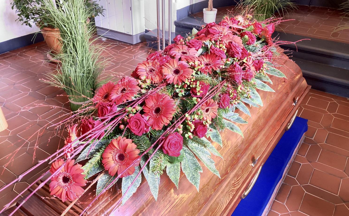 Trauerfeiern im Krematorium