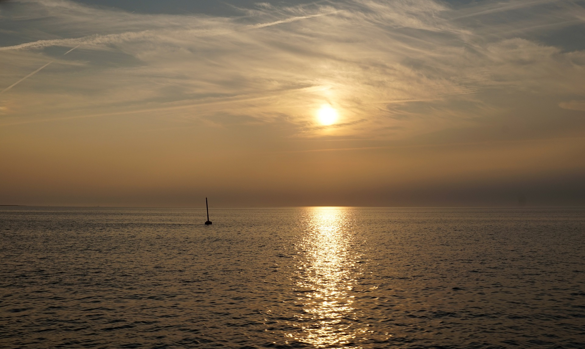 Seebestattung vor Nordstrand: Bestattungsgebiet